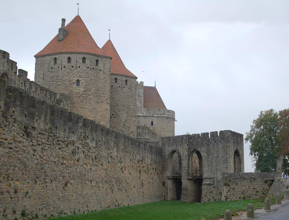 Puerta de Narbonne - Carcassonne
