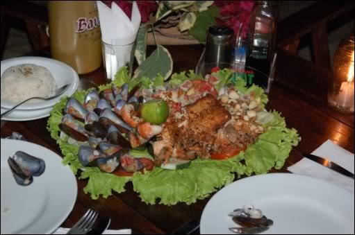 Una cena en Jericoacoara
