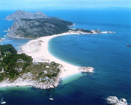 Praia de Rodas, Islas Cíes