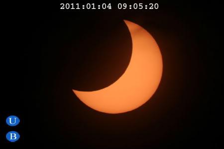 El Eclipse Solar del 04/01/2011