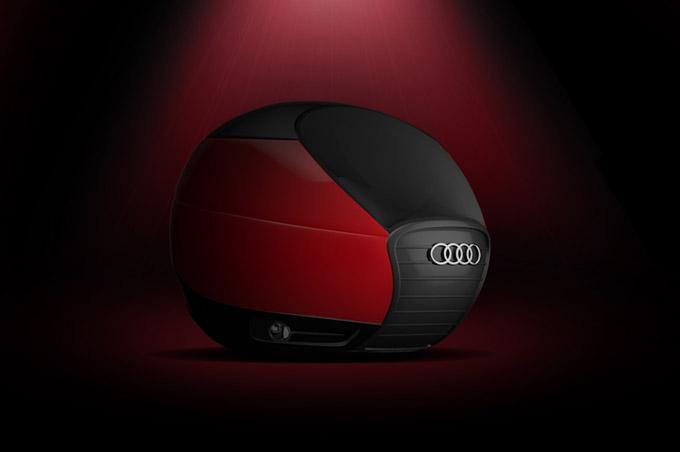 La misteriosa cápsula de Audi