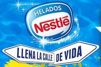 Sal a la calle y juega con famosos - Nestle