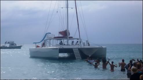 Excursión en Catamarán desde Negril - Jamaica