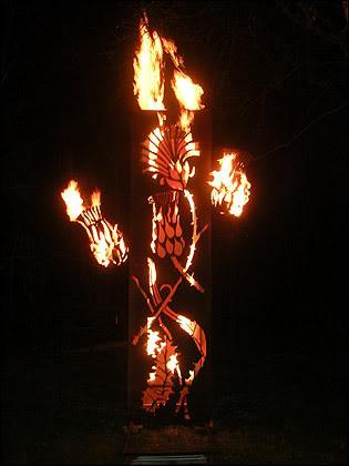 Escultura de Fuego 1
