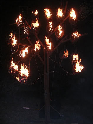 Escultura de Fuego 3