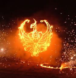 Escultura de Fuego 4