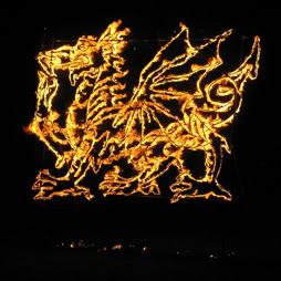 Escultura de Fuego 5