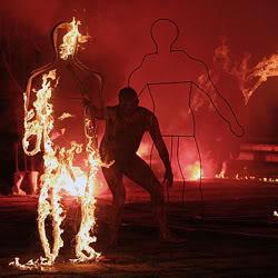 Escultura de Fuego 6