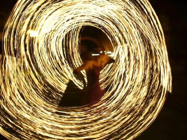 Escultura de Fuego 8