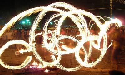 Escultura de Fuego 9