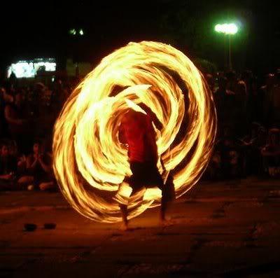 Escultura de Fuego 10