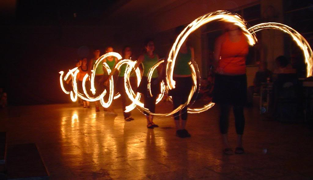 Escultura de Fuego 11