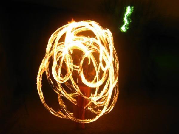 Escultura de Fuego 12