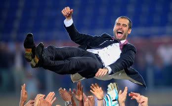 Pep Guardiola, entrenador del F.C. Barcelona