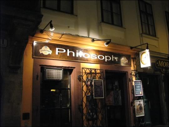 Philosoph, no Phylosoft, en Viena