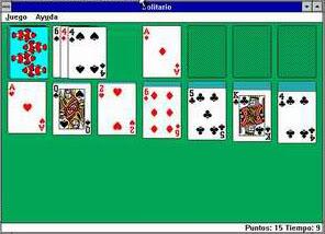 Solitario de Windows 3.11