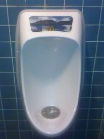 Urinario en McDonalds